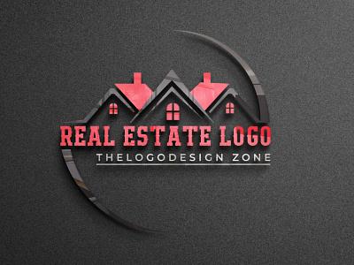 do brand real estate home construction company logo design ui typography branding icon design vector graphic design minimal flat logo