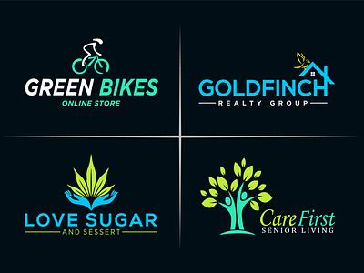 design creative modern minimalist business logo typography illustrator branding design icon vector graphic design minimal flat logo