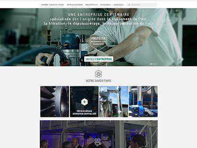 Work in progress website design