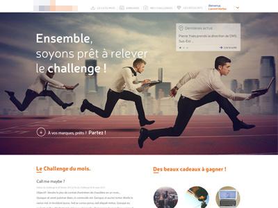 Challenge website #workinprogress web design workinpreogress