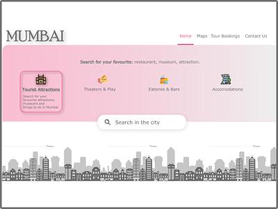 Mumbai Meri Jaan website webdesign landing page ui ux vector dailyuichallenge daily 100 challenge branding museum city mumbai