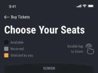 Choose your seats   sector