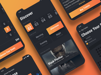 The process of ordering a ticket - Cinema app