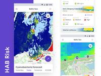 HAB Risk - Cyanobacteria bloom forecast app