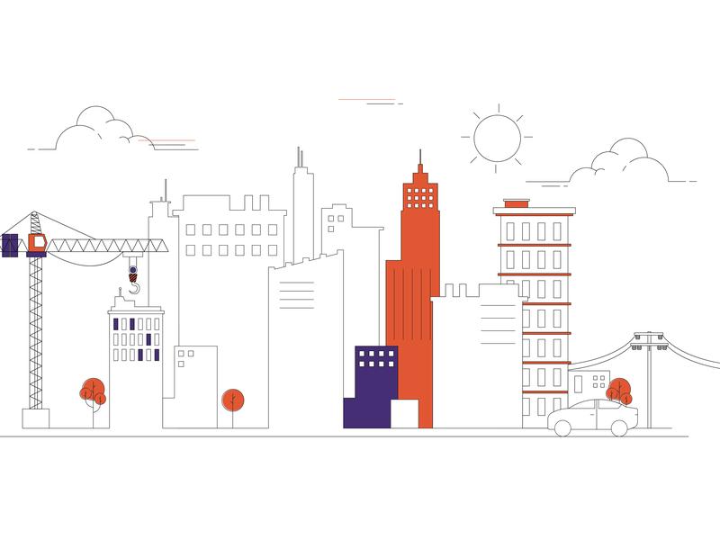 Building adobe illustrator illustration
