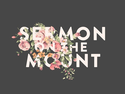 Sermon On The Mount Title Design