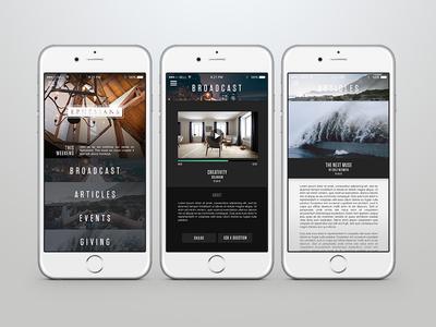 City Beautiful Church App Design by John David Harris - Dribbble