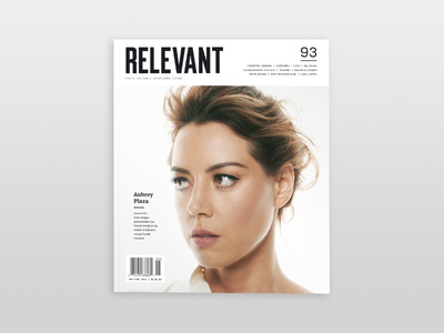 RELEVANT Magazine Issue 93 Cover layout magazine design print
