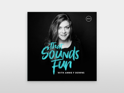 That Sounds Fun logo podcast design