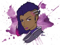 Overwatch: Sombra 2.0 (VECTOR GRAPHIC)