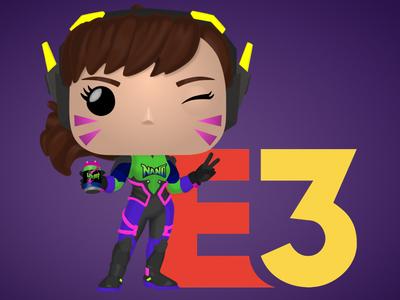 Nano Cola DVa Funko Pop for E3