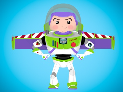 Toy Story: Buzz Lightyear character design vector cartoon infinite and beyond toy disney pixar studios pixar toy story 4 toy story space ranger buzz lightyear