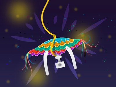 Droneata / Piñadrone