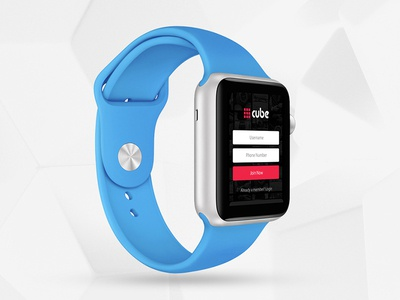 Cube for iWatch
