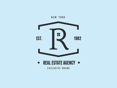 Vintage Logo / Retro Label & Badges business real estate classic hipster retro vintage label badge logos logo