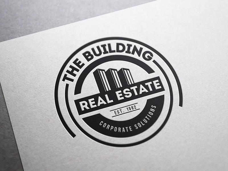 Vintage Logo / Retro Badge t-shirt badge classic corporate business building real estate logo logos retro vintage