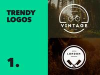 Trendy Logos / Restaurant / Clothing
