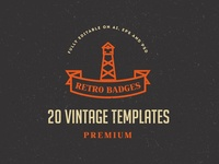Vintage Logo / Retro Badge