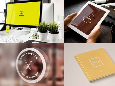 Minimal Logo / Modern Label & Badges