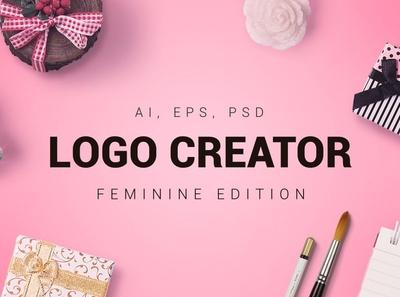 Feminine Logo / Modern Brand