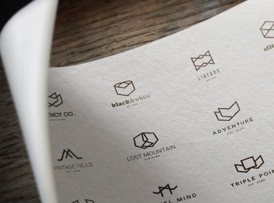 Geometric Logos / Minimal Brand