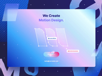 MorvaLab - Digital Design Agency studio app fancy minimal clean icons motion web uxdesign ui design team gradient website trends landingpage ui agency design lab morva