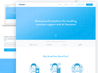 Artificial Intelligence - Landing Page
