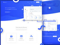 FastMailler - Landing Page Concept