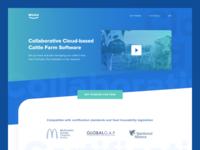 Muuu Cloud System - Landing Page