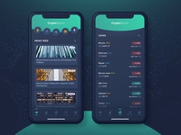 Cryptocurrency - App Concept