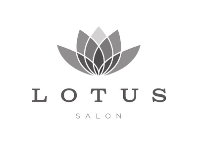 Lotus Salon (alt) logo salon lotus flower
