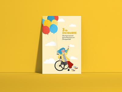 Poster 3dic procreate illustration
