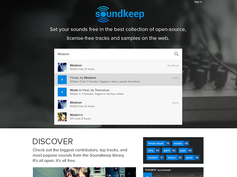 Soundkeep