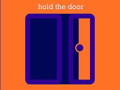 Door Logo illustration branding icon logo graphic design