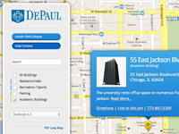 DePaul Campus Map update by Andy Detskas   Dribbble   Dribbble on