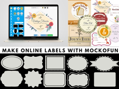 Online Label Templates logo design sticker design sticker freebie label packaging label design labels label