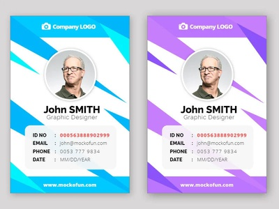 Employee ID Card Online mockofun online freebie identity card design id card design id card