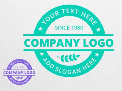 Stamp Logo online logos mockofun logodesign logo stamp logo stamp design stamp