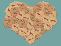 Free Paper Heart