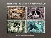 Stamp PSD Free