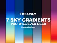 7 Sky Gradients