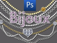 Gold and Diamonds Jewelry Photoshop Actions