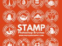 Travel Stamp Brushes (FREE)