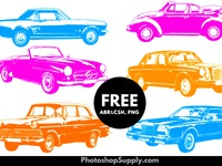 Car Shapes | FREE (Vector, Brushes & PNG)