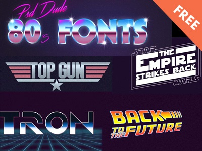 80s Font | FREE movie poster 80s style 80s photoshop typography design typography art font design font