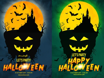 Halloween Night Posters (Online)