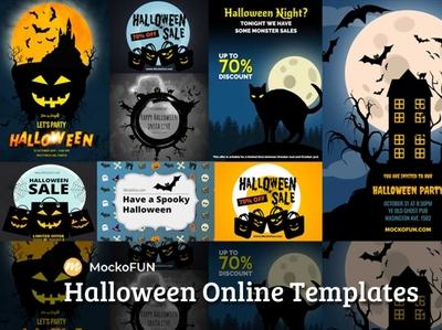 Halloween Templates Online flyer poster halloween design halloween flyer halloween