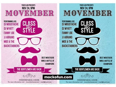 FREE Movember Poster
