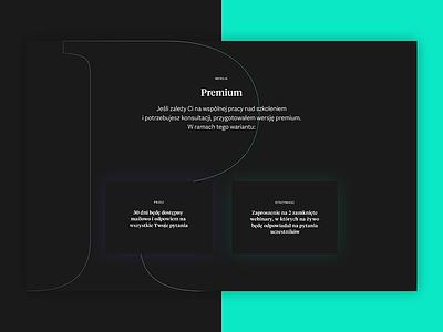 Online course platform – details #2 gradient boxes shadow glow platform course online webdesign web ui premium typography