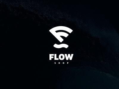 Flow Shop logo logotype